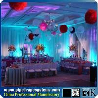 Wholesale hot sale aluminum telescopic Portable Pipe and Drapes kits for sale from china suppliers