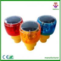 Wholesale Road constuction cone warning light/rechargeable led beacon/tower crane flashing light from china suppliers