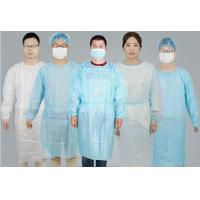 Wholesale Non Woven PP / SMS Disposable Surgical Gowns Hospital Gowns For Patients from china suppliers