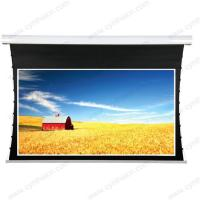 Wholesale Cynthia HD Soft PVC Fabric Tab Tension Motorized Screen For Projector from china suppliers