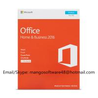 English Version Office 2016 Retail Box Home And Business For PC Genuine License Installation