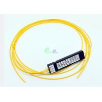 Wholesale Corning Singlemode 1x2 Fiber Optic Cable Coupler Low Polarization Dependent Loss from china suppliers