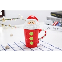 Wholesale 400ml Christmas Ceramic Mugs from china suppliers