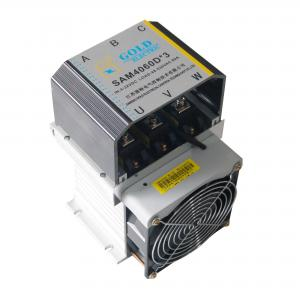 Wholesale 60A 225mm Single Phase Solid State Relay Switch Temperature Exorbitant Prevent from china suppliers