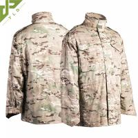 Wholesale M65 Military Field Jacket Water Repellent With Concealed Hood from china suppliers