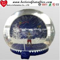 Wholesale HOT Giant Inflatable Christmas Ornaments Ball Snow Globe for Outdoor Advertising from china suppliers