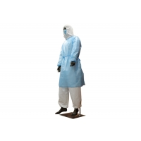 Wholesale Breakaway Design Long Sleeve 60gsm Disposable Patient Gowns from china suppliers