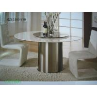 Customized Marble Modern Round Coffee Tables With Chairs Sets For Living Room Of Item 95391214