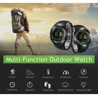 Wholesale Durable multisport watch with a long battery life and barometric compass weather forecast military smart watch from china suppliers