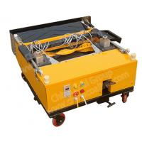 China Thickness Of Plaster is 0.3-30mm  ZB800-4A Wall Sand Plastering Machine For Wall on sale