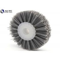 China Abrasive Rotary Steel Wire Brushes Rotary Tool Wire Brush Hdpe Plate Material on sale