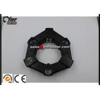Buy cheap Black Hydraulic Pump Excavator Coupling , 16AS & 16A Rubber Shaft Coupling from wholesalers
