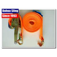 Wholesale 10000 Lbs 2  Mini Ratchet Tie Down Straps With Zinc Plated Welded Wire Hook from china suppliers