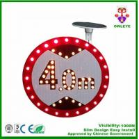 Wholesale Solar Powered Traffic Signal Board With Led light used in Public Place from china suppliers