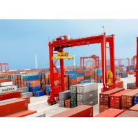 Wholesale Loading And Unloading Container Lifting Crane , RMG Rail Mounted Gantry Crane from china suppliers