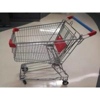 China Professional Shopping Cart Trolley , Hand Cart Trolley For Supermarket Store on sale