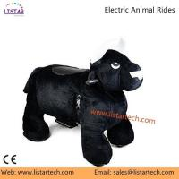 Amusement Coin Operated Kiddie Rides, Electric Rechargeable Battery Animal Rides for Mall for sale