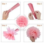 25/30/35/40 cm Tissue Paper Pom Pom Balls Craft , Hanging Pom Pom Decorations