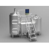 Wholesale Shockproof Electric Commercial Microbrewery Equipment Semi Auto Control Panel from china suppliers