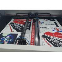 Quality Double Heads Laser Cutting Machine For Textile & Garment High Cutting Speed for sale