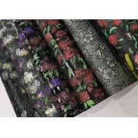 Wholesale Hand Printing Artificial Leather Fabric Normal Peeling Strength Quick Drying from china suppliers