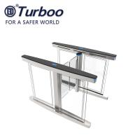 Wholesale Automatic Access Control Turnstile Gate Transparent Acrylic Arm With Brushed Servo Motor from china suppliers