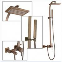 Wholesale Wall Mount Antique Brass Shower Faucet Set TSA012 from china suppliers