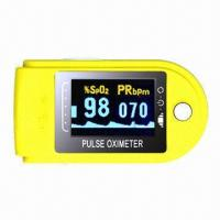 Wholesale Excellent Finger Oximeter with 1.5V Power Supply/Dual Color OLED Display/128x64P Screen Resolution from china suppliers