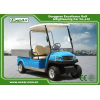 Wholesale Blue M1H2 Electric Utility Carts Transport Golf Utility Cart With Graziano Axle from china suppliers