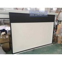 Buy cheap Cynthia High Gain Matte White 178MX178M Electric Projection Screen For Projector from wholesalers
