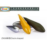 Die casting 60g clock type lead fishing sinkers for for Types of fishing sinkers
