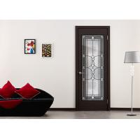China Privacy Double Tempered Sliding Glass Door For Home Decor IGCC IGMA Certification on sale