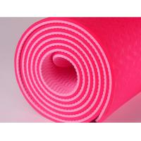 China TPE Yoga Mat Exercise Mat TPE Eco Friendly Yoga Mat With Carry Strap Anti Slip Comfortable Exercise Mat on sale
