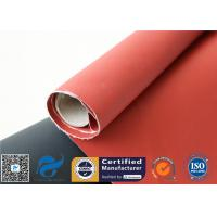 Wholesale Recycle Silicone Impregnated Fiberglass Cloth For Heat Protection Fireproof Covers from china suppliers