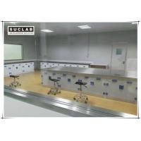 China Floor Mounted Chemical Resistant Laboratory Tables With PP Handle on sale