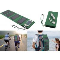 5W Foldable Solar Charger With Built-in 7000mAh Li-polymer Power Bank 1.5W Torch Manufactures