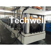 Electric Cutting 17 Stations 17.7KW Large Span Roof Panel Roll Forming Machine