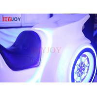 Wholesale Customized Design White Color VR Motorcycle Racing Game Simulator Machine With Light from china suppliers