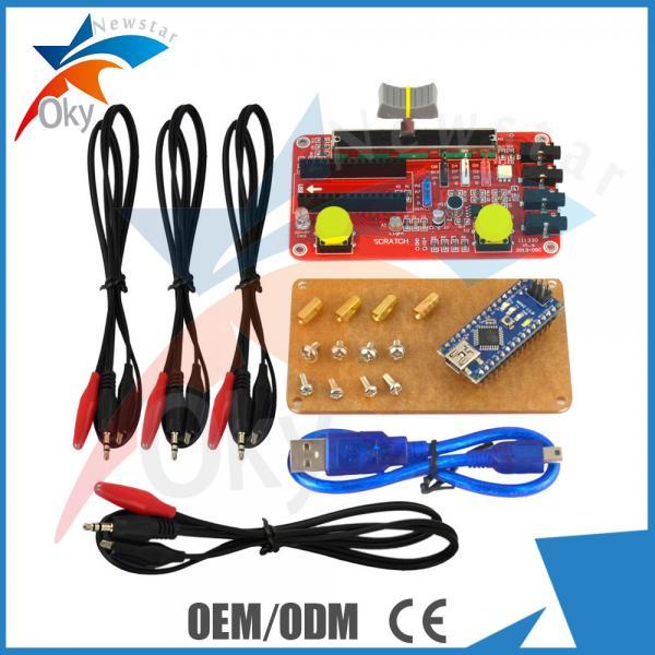 Quality Nano V3.0 Arduino Starters Kit atmega328p-pu with USB cable for sale