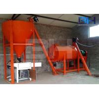Buy cheap Simple Dry Mortar Production Line With Manual Batching And Automatic Packing from wholesalers