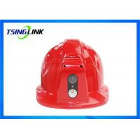 Wholesale Two Way Intercom 4G Wireless Device 4G Safety Helmet With Face Capture Wireless Camera from china suppliers