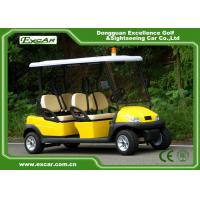 Wholesale 4 Seats ADC 48V 3.7KW  Electric Patrol Vehicle with Customized Logo from china suppliers
