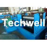 Wholesale 2.0 - 4.0mm Thickness Corrugated Steel Sheet Roll Forming Machine For Silo Wall Panel from china suppliers