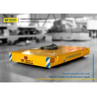 Buy cheap Armored Line Powered Workshop Rail Transfer Cart / Industrial Material Handling Carts from wholesalers