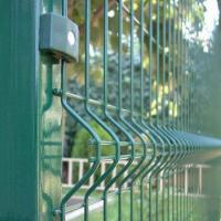 Wholesale Razor Welded Wire Mesh Fence Panels In 6 Gauge Airport Security Perimeter from china suppliers