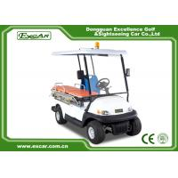 Wholesale EXCAR 2 Seat Hospital Electric Ambulance Car 3.7KW 48V Trojan Battery Ambulance Car from china suppliers
