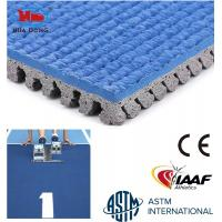 China Slip resistant rubber mat for running track on sale