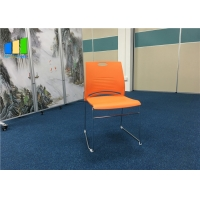 Wholesale Polypropylene Plastic Office Visitor Chair Customized Stackable Training Chairs from china suppliers