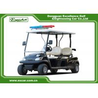 Wholesale ADC 48V 3.7KW Electric Patrol Car , 4 Person Golf Cart 1 Year Warranty from china suppliers