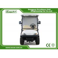 Wholesale White 2 Person Golf Utility Vehicles With Closed Type Container from china suppliers